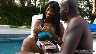 Chocolate naughty MILF memorable xxx scene