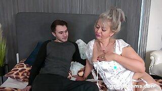 Granny Veronique Wants His Young Hard Pecker