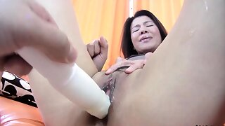 POV Sexual intercourse Amateur Japanese MILF With Natural Confidential