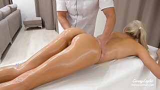Unexpected Coition with In-Home Massage Therapist – Impotent Coition