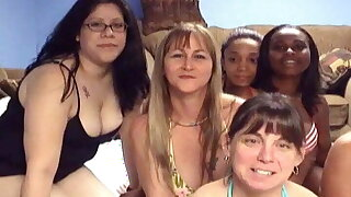 huge clumsy homemade orgy and sex party