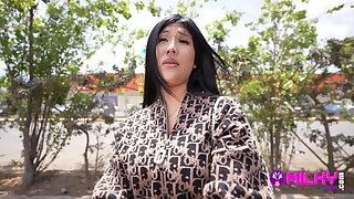Sofia Cavero, Peruvian caught around the streets of Trujillo