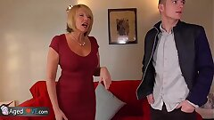 AgedLove Nice comme ci granny is fucked by horny man