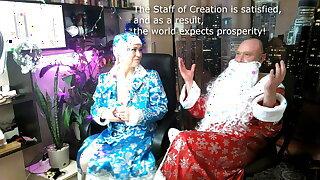 Snow Maiden's soiled pussy and Santa's Magic Staff... )) #XMAS