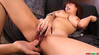 Dominate Airu Oshima feels coc- More at Japanesemamas.com