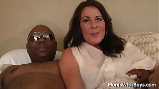 Milf Bella Roxxx having sex with a beamy dismal bushwa