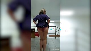 My naughty office selfies compilation