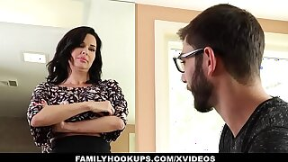 FamilyHookups - Hot Milf Teaches Stepson How Just about Light of one's life