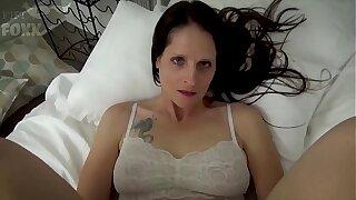 Mom & Son Share a Purfle - Mom Wakes Up to Son Masturbating - POV, MILF, Family Sex, Ma - Christina Sapphire
