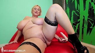 Sam Predicament - blonde pornstar samantha 38g - chunky ass and monster tits