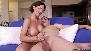 Chad Got Busted – Gets Reach Around MILF Handjob