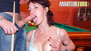 AMATEUR EURO, Sexy Cougar Lyna Cypher Has Anal Sex With Casanova
