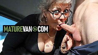 Hot granny wants young cock to MatureVan